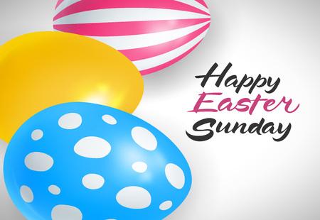 复活节用彩蛋写字母