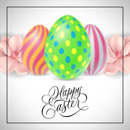 用三个鸡蛋写复活节快乐字母