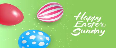 复活节用鸡蛋写字母快乐