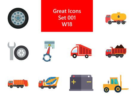 Automotive Icons Set