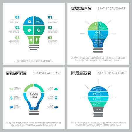 Modern infocharts layout set for workflow analytics, annual report, presentation, web page. Business and teamwork concept with metaphor process charts