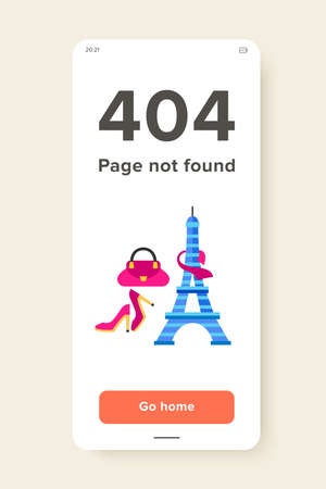 Icon of Eiffel Tower, pink shoes, bag and scarf. French fashion, shopping in France, French brands. France concept. Can be used for topics like fashion, shopping, tourism