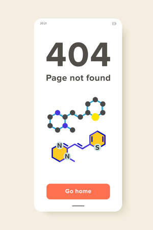 Molecular structures flat icon. Multicolored vector illustration of molecular models