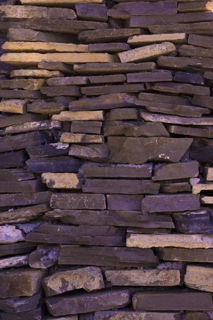 mediate: background of wall with irregular stones