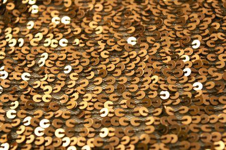 sequined shiny textile background Stock Photo - 4416961