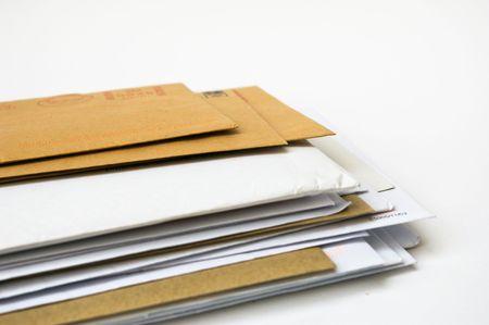 bulk: stack of envelopes
