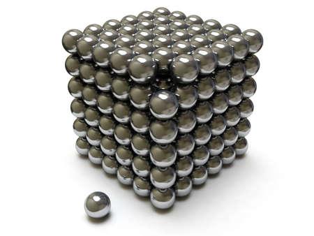 Chrome cube