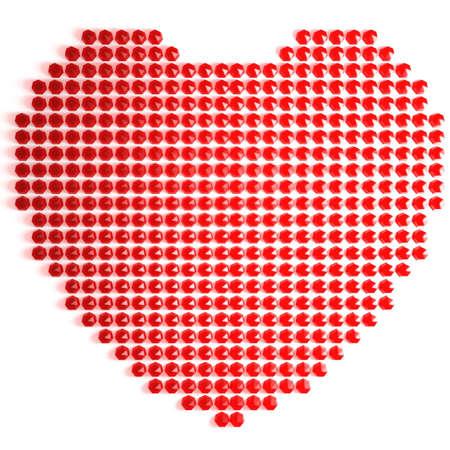 Ruby heart photo