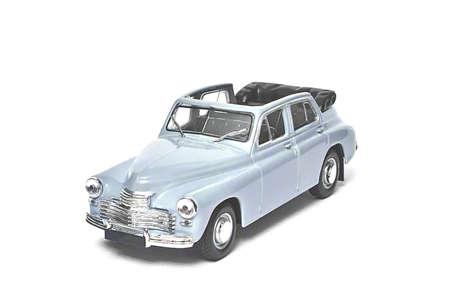 Blue retro car photo
