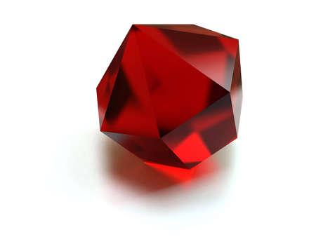 brilliant red jewels