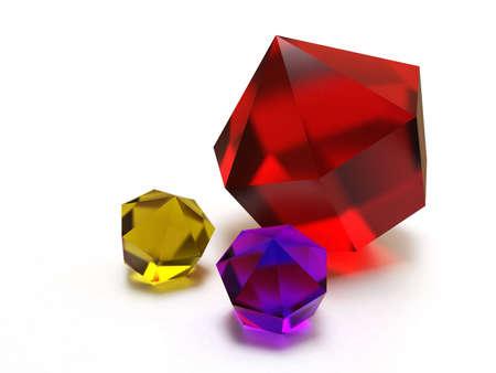 brilliant colored jewels