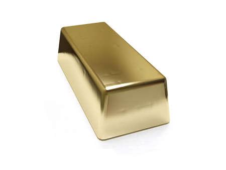 gold bar Stock Photo