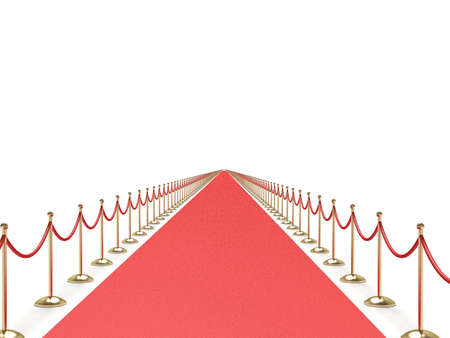 Endless red carpet Stock Photo - 6452417
