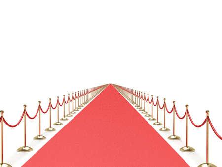 Endless red carpet