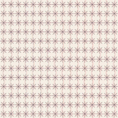 Pattern Geometri Flower Line Vector