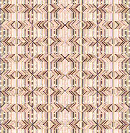 textil: Abstract Geometric Line Pattern
