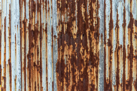 Rusty zinc texture Stock Photo
