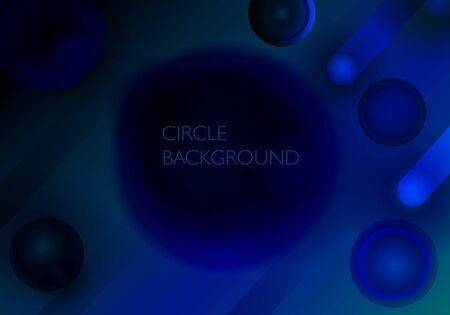 abstract digital glowing circle gradient background useful for social media banner, cover and digital necessity