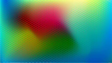 horizontal abstract glow colorful halftone background useful for social media banner, cover and digital necessity