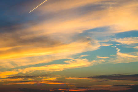 cloud background: sunset sky background