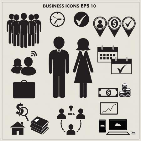 simbolo uomo donna: Icona del business