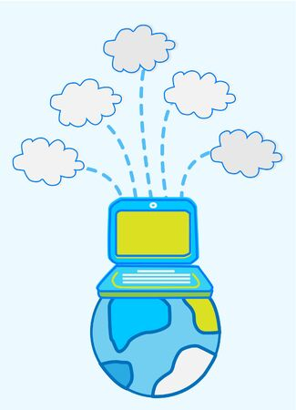 centralized: Global Data cloud computing