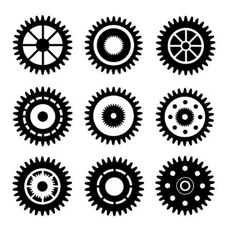 set off gear Vector