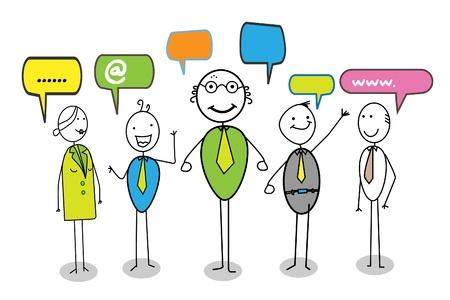 business relationship: online community
