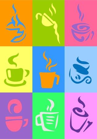 coffee & tea Stock Vector - 11079331