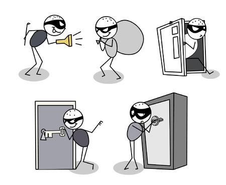 burglar: ladro di