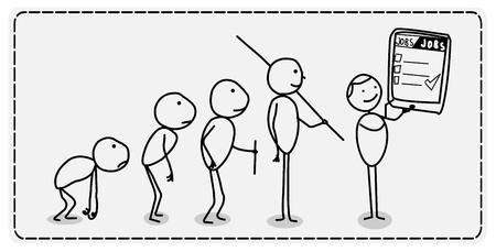 darwinism: Find Job Evolution
