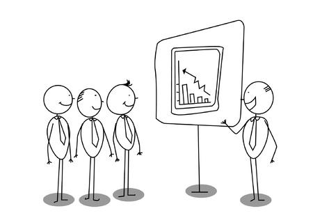 boss presentation Stock Vector - 11169073