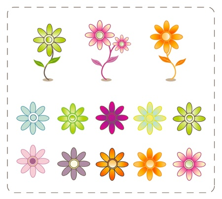 flower symbol  Stock Vector - 11312292