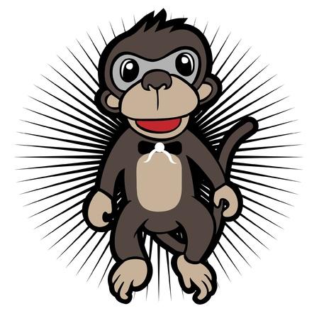 Monkey Character Vector