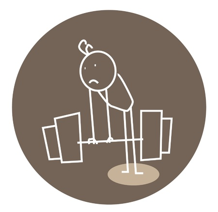 weightlifter: weak weightlifting doodle
