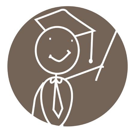 graduated: graduate vector