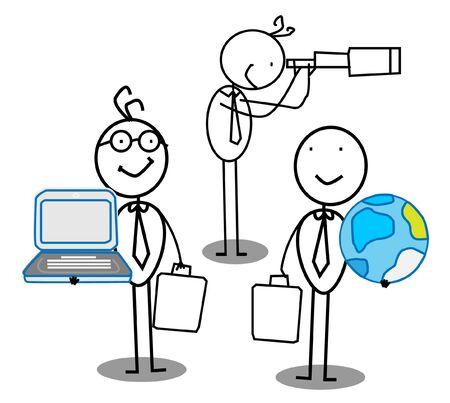 Team work & Opportunity Stock Vector - 11815131