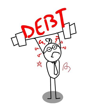 빚: 약한 사업가에 대한 부채