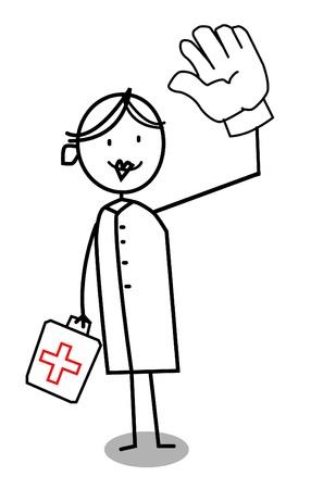 manos unidas: Enfermera voluntaria