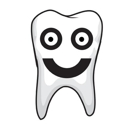 dent: Tooth Vector  Illustration