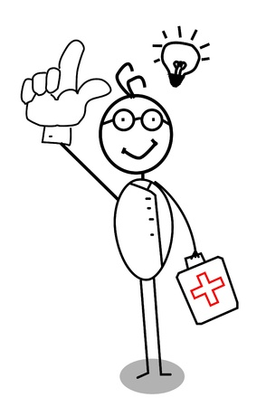 health education: doctor idea