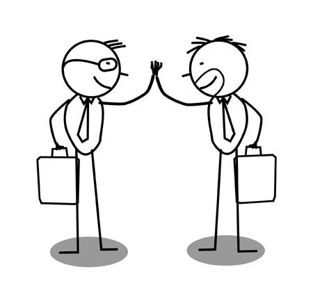 Businessman Agreement