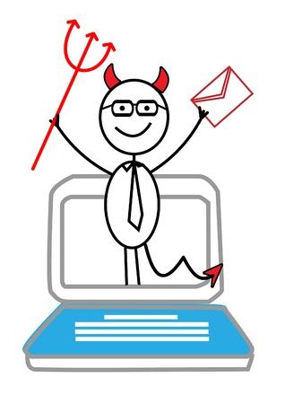 diable rouge: e-mail, portable diable rouge