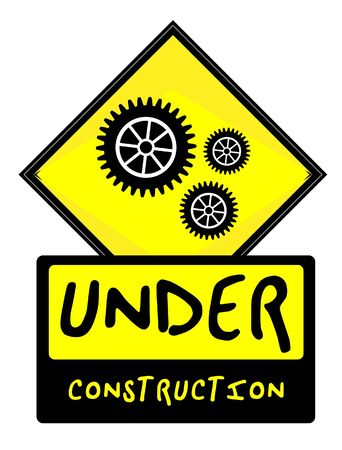 Under Construction sign Stock Vector - 12927404