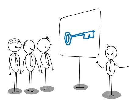 Presentación de negocios acerca de la solución