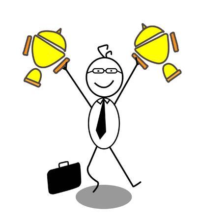 Geschäftsmann Winner