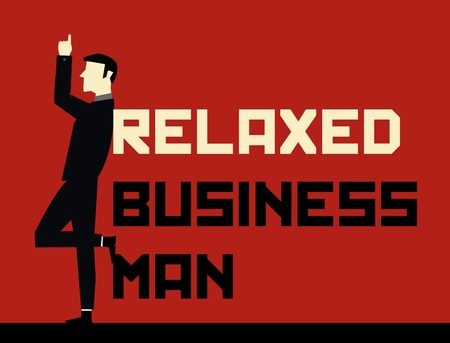 relaxed: Relaxed Businessman