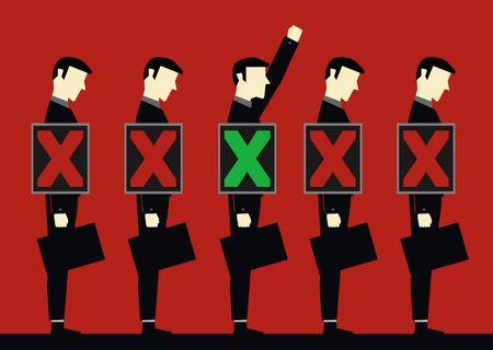 chosen: Chosen Businessman  Illustration