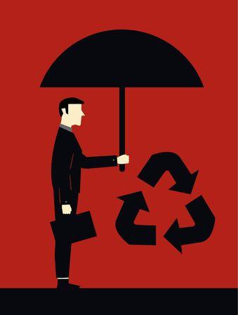 ne: Businessman Protect Ecology