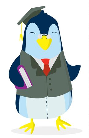 Penguin Study Stock Vector - 14323923